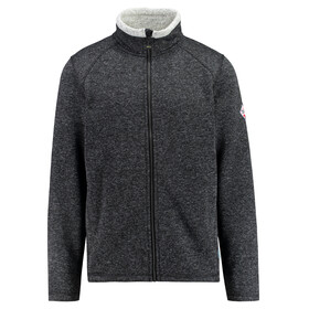 Meru M's Ostersund Strick Fleece Jacket Black